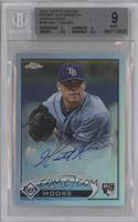 Matt Moore /499 [BGS 9 MINT]