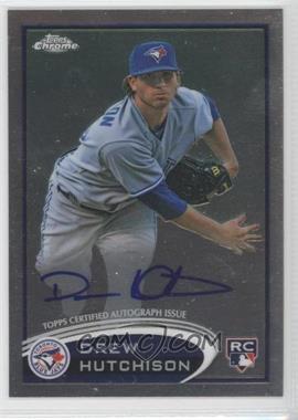 2012 Topps Chrome - Rookie Autograph #193 - Drew Hutchison