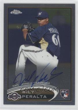 2012 Topps Chrome - Rookie Autograph #WP - Wily Peralta