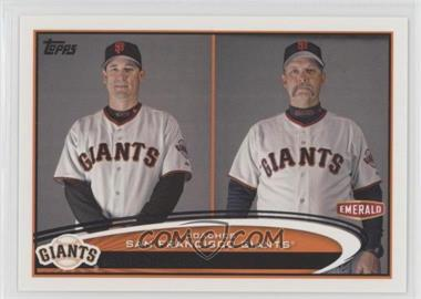 2012 Topps Emerald Nuts San Francisco Giants - [Base] #SF31 - Mark Gardner, Bill Hayes