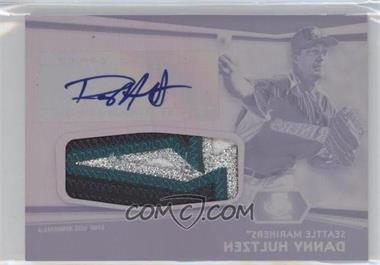 2012 Topps Finest - Autographed Jumbo Relic Rookies - Printing Plate Black #AJR-DH - Danny Hultzen /1