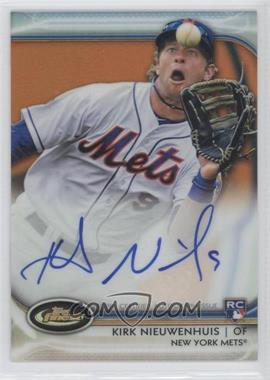 2012 Topps Finest - Autographed Rookies - Orange Refractor #AR-KS - Kirk Nieuwenhuis /99