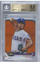 Yu Darvish [BGS 9.5 GEM MINT] #/99