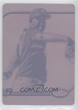 2012 Topps Finest - [Base] - Printing Plate Magenta #71 - Dellin Betances /1