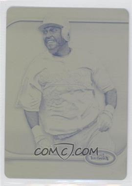 2012 Topps Finest - [Base] - Printing Plate Yellow #63 - Eric Hosmer /1