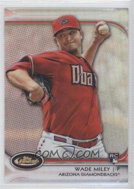 2012 Topps Finest - [Base] - Refractor #76 - Wade Miley