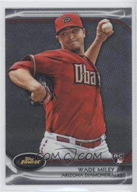 2012 Topps Finest - [Base] #76 - Wade Miley