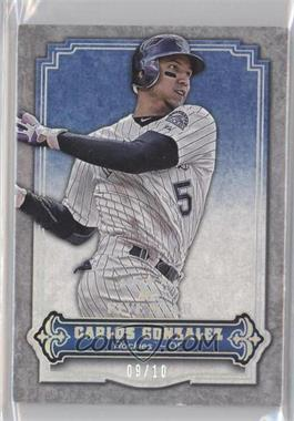 2012 Topps Five Star - [Base] - Rainbow #31 - Carlos Gonzalez /10