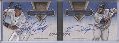 2012 Topps Five Star - Dual Autographed Books #FSBDA-CF - Miguel Cabrera, Prince Fielder /10