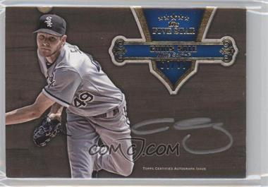 2012 Topps Five Star - Silver Signatures #FSSI-CS - Chris Sale /99