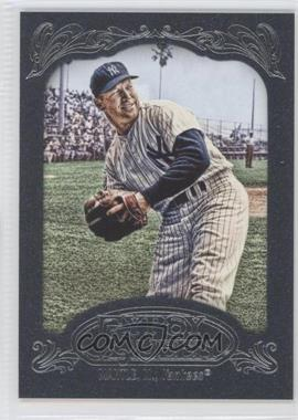 2012 Topps Gypsy Queen - [Base] - Blue #120 - Mickey Mantle /599