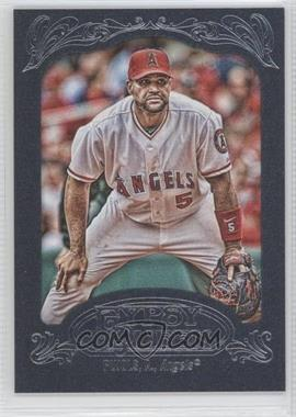 2012 Topps Gypsy Queen - [Base] - Blue #180 - Albert Pujols /599