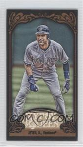2012 Topps Gypsy Queen - [Base] - Mini Black #100 - Derek Jeter