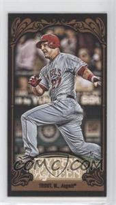 2012 Topps Gypsy Queen - [Base] - Mini Black #195 - Mike Trout