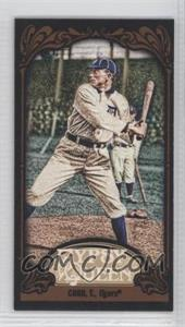 2012 Topps Gypsy Queen - [Base] - Mini Black #229 - Ty Cobb