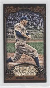 2012 Topps Gypsy Queen - [Base] - Mini Black #236 - Lou Gehrig