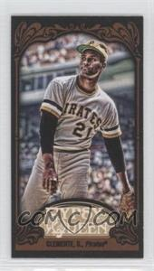 2012 Topps Gypsy Queen - [Base] - Mini Black #270 - Roberto Clemente