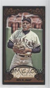 2012 Topps Gypsy Queen - [Base] - Mini Black #280 - Willie Mays