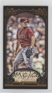 2012 Topps Gypsy Queen - [Base] - Mini Black #287 - Daniel Hudson