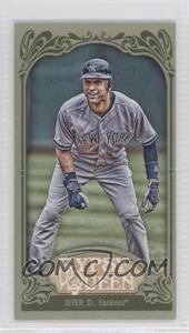 2012 Topps Gypsy Queen - [Base] - Mini Green #100 - Derek Jeter