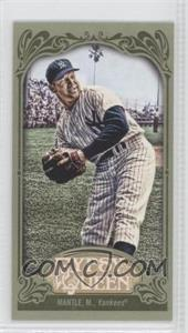 2012 Topps Gypsy Queen - [Base] - Mini Green #120 - Mickey Mantle