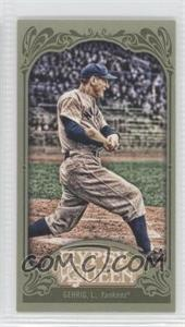 2012 Topps Gypsy Queen - [Base] - Mini Green #236 - Lou Gehrig