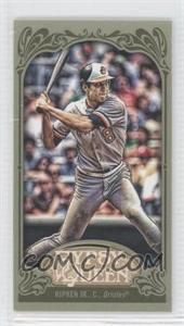 2012 Topps Gypsy Queen - [Base] - Mini Green #253 - Cal Ripken Jr.