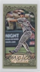 2012 Topps Gypsy Queen - [Base] - Mini Green #320 - Justin Verlander