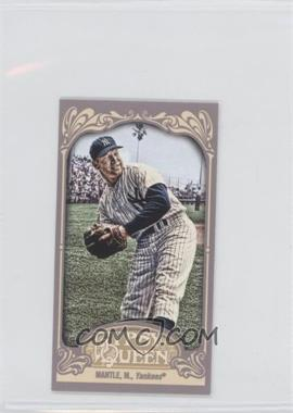 2012 Topps Gypsy Queen - [Base] - Mini Gypsy Queen Back #120 - Mickey Mantle