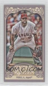 2012 Topps Gypsy Queen - [Base] - Mini Gypsy Queen Back #180 - Albert Pujols