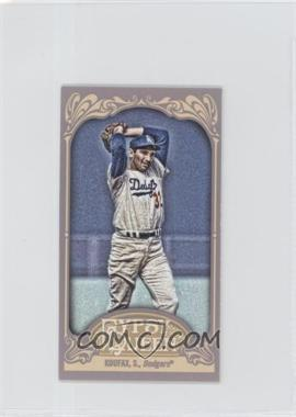 2012 Topps Gypsy Queen - [Base] - Mini Gypsy Queen Back #290 - Sandy Koufax