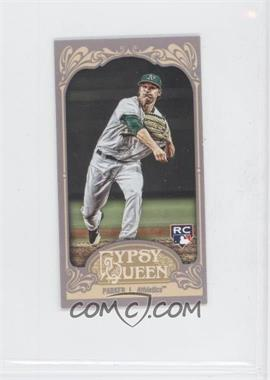 2012 Topps Gypsy Queen - [Base] - Mini Gypsy Queen Back #291 - Jarrod Parker