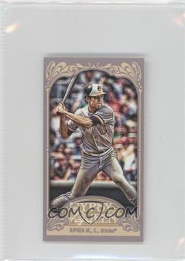 2012 Topps Gypsy Queen - [Base] - Mini Gypsy Queen Back #344 - Cal Ripken Jr.