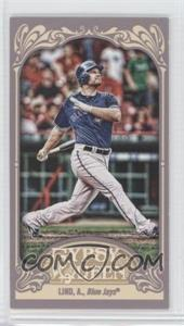2012 Topps Gypsy Queen - [Base] - Mini Gypsy Queen Back #36 - Adam Lind