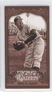 2012 Topps Gypsy Queen - [Base] - Mini Sepia #120 - Mickey Mantle /99