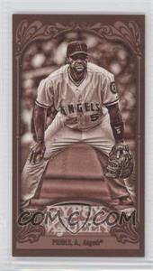 2012 Topps Gypsy Queen - [Base] - Mini Sepia #180 - Albert Pujols /99