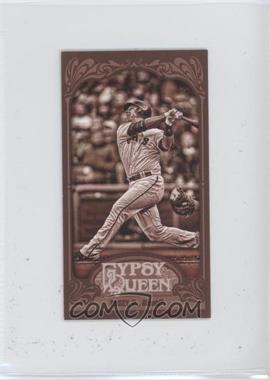 2012 Topps Gypsy Queen - [Base] - Mini Sepia #182 - Buster Posey /99