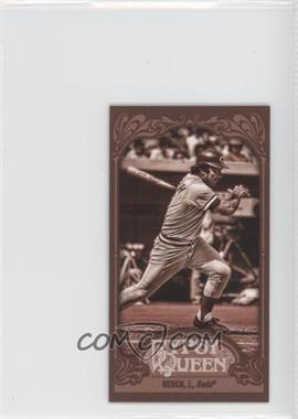2012 Topps Gypsy Queen - [Base] - Mini Sepia #226 - Johnny Bench /99