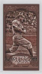 2012 Topps Gypsy Queen - [Base] - Mini Sepia #236 - Lou Gehrig /99