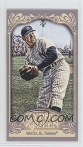 2012 Topps Gypsy Queen - [Base] - Mini Straight Cut #120 - Mickey Mantle