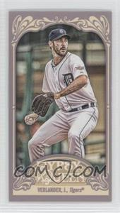 2012 Topps Gypsy Queen - [Base] - Mini Straight Cut #130 - Justin Verlander