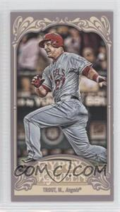 2012 Topps Gypsy Queen - [Base] - Mini Straight Cut #195 - Mike Trout