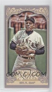 2012 Topps Gypsy Queen - [Base] - Mini Straight Cut #280 - Willie Mays