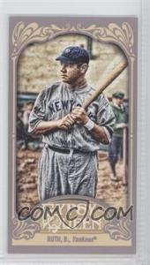 2012 Topps Gypsy Queen - [Base] - Mini Straight Cut #300 - Babe Ruth
