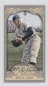 2012 Topps Gypsy Queen - [Base] - Mini #120.1 - Mickey Mantle (Throwing)