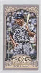 2012 Topps Gypsy Queen - [Base] - Mini #120.2 - Mickey Mantle (Batting)