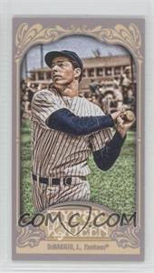 2012 Topps Gypsy Queen - [Base] - Mini #232.2 - Joe DiMaggio (Pinstripes)