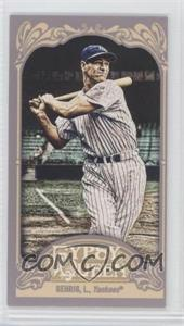 2012 Topps Gypsy Queen - [Base] - Mini #236.1 - Lou Gehrig (Pinstripes)