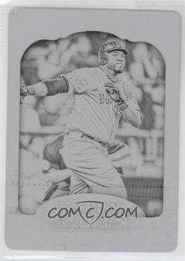 2012 Topps Gypsy Queen - [Base] - Printing Plate Black #173 - David Ortiz /1