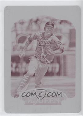 2012 Topps Gypsy Queen - [Base] - Printing Plate Magenta #16 - Eric Hosmer /1